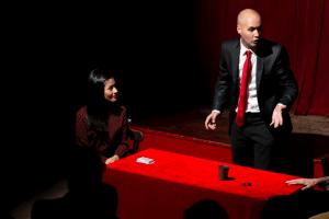 Magia en el teatro Rey de la magia-6 Daniel Reza