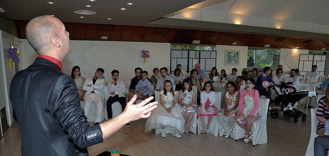 magia salon para comuniones mago Daniel Reza